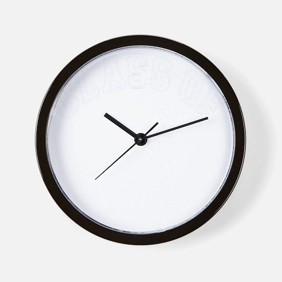 Class Of 2013 Hockey - White 2 D Wall Clock
