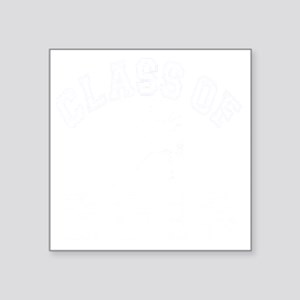 "Class Of 2013 Hockey - Whit Square Sticker 3"" x 3"""