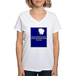 bjsite Women's V-Neck T-Shirt