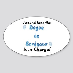 Dogue Charge Oval Sticker