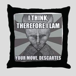 LAM-DESCARTES Throw Pillow