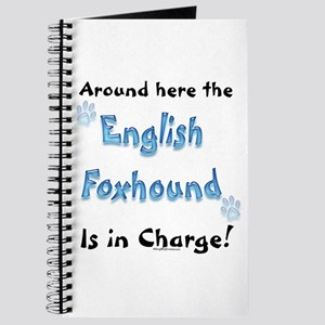 English Foxhound Charge Journal
