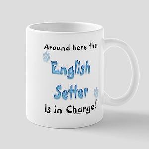 English Setter Charge Mug