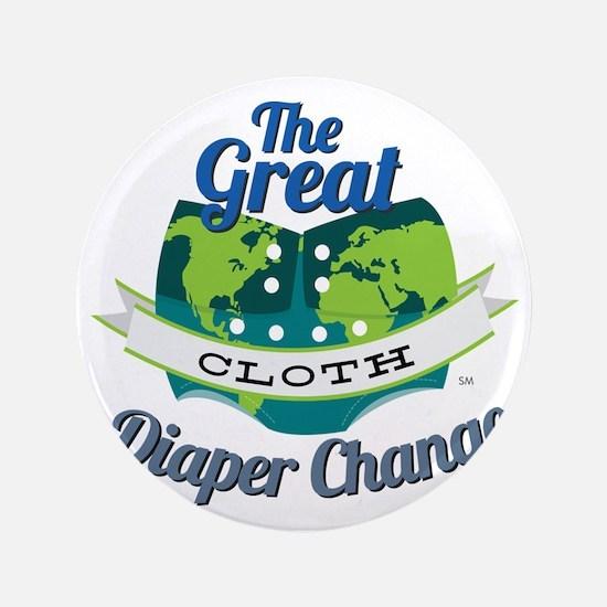 """Great Diaper Change Final Logo_SM_no b 3.5"""" Button"""