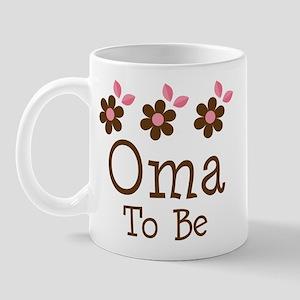 Oma To Be daisy Mug