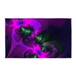 Purple Imp Abstract Fractal 3'x5' Area Rug