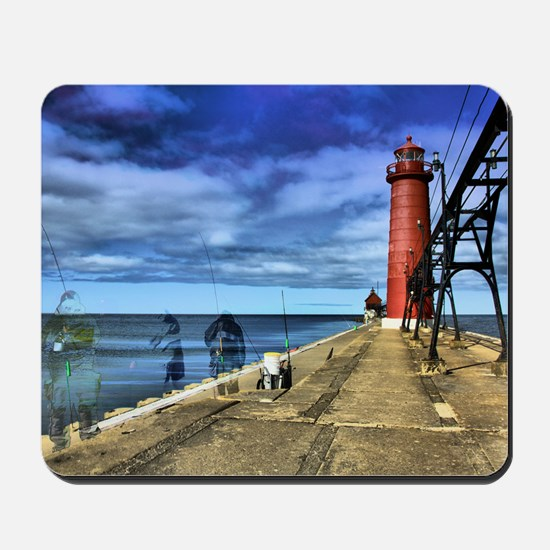 grand haven 2010 hdr 3 ghosts from the p Mousepad