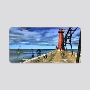 grand haven 2010 hdr 3 ghos Aluminum License Plate