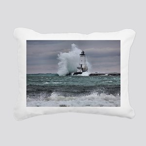 ludington 3 Rectangular Canvas Pillow