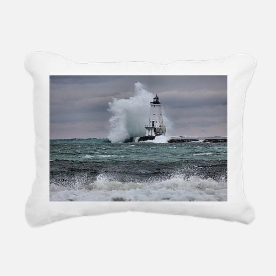 ludington 3 Rectangular Canvas Pillow