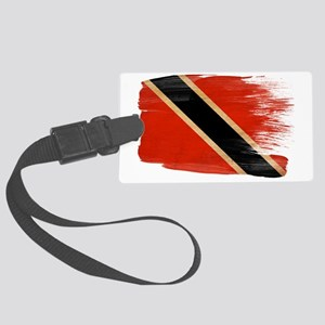 Trinidad And Tobagotex3-paint st Large Luggage Tag