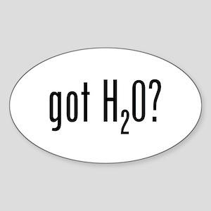 got DNA? Oval Sticker