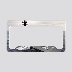fhammond de large framed prin License Plate Holder