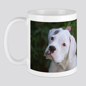 Boxer Lost In Thought Mug