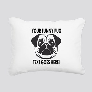 Pug Lover Personalized Funny Rectangular Canvas Pi