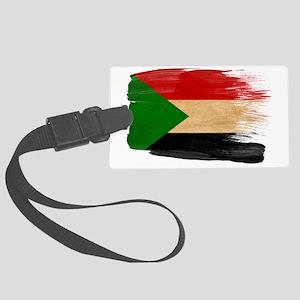 Sudantex3-paint styletex3-paint Large Luggage Tag