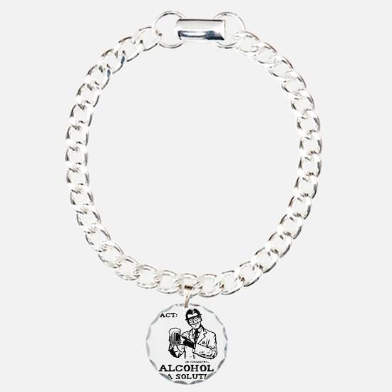 alcoholisasolutionEXTRAS Charm Bracelet, One Charm