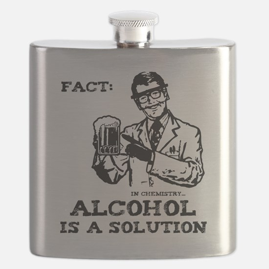 alcoholisasolutionEXTRAS Flask