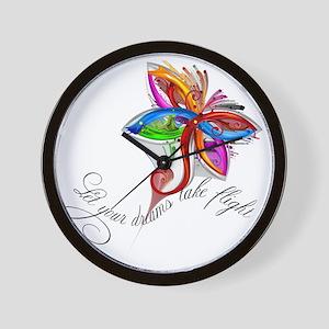 dream-flight-logo Wall Clock