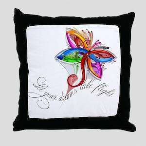 dream-flight-logo Throw Pillow