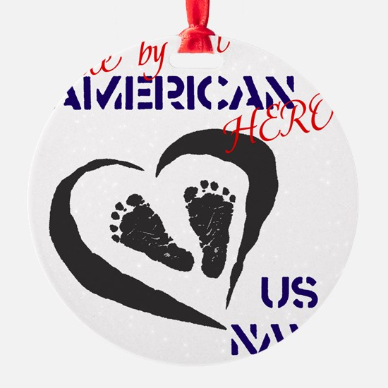 Baby of A Navy Hero Ornament