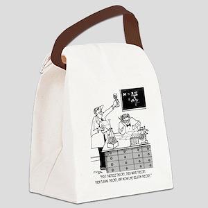 1928_physics_cartoon Canvas Lunch Bag