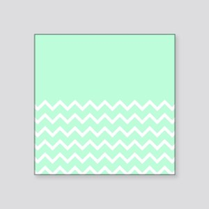 Mint Green and Zigzags. Sticker