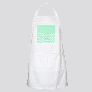 Mint Green and Zigzags. Apron