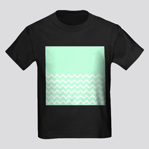 Mint Green and Zigzags. T-Shirt