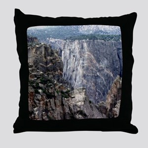 Colorado Black Canyon 2 Throw Pillow