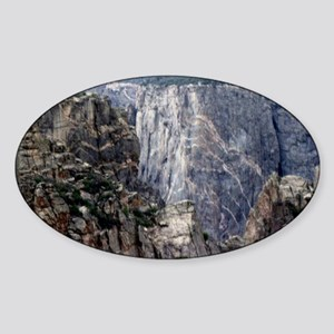 Colorado Black Canyon 2 Sticker (Oval)