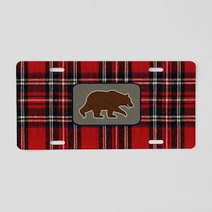 grizzlybearclutch Aluminum License Plate
