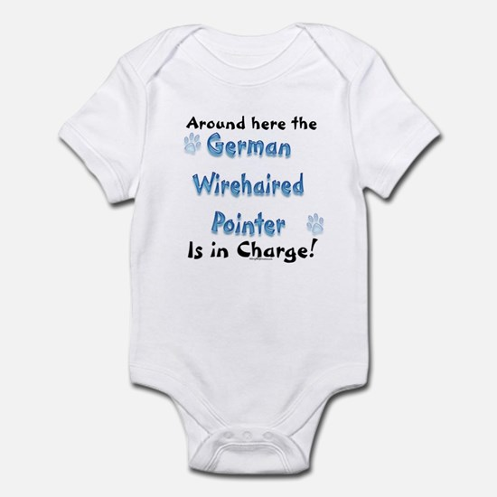 Wirehaired Charge Infant Bodysuit