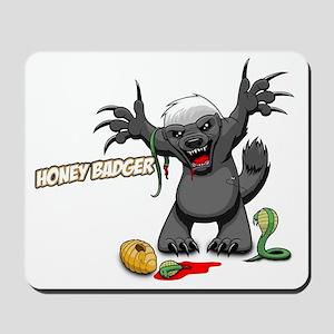 honey badger (2) Mousepad