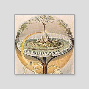 Yggdrasil Tree of Life Norse Myth Sticker