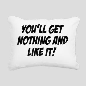 Caddyshack Judge Smails Rectangular Canvas Pillow