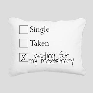 minhy Rectangular Canvas Pillow
