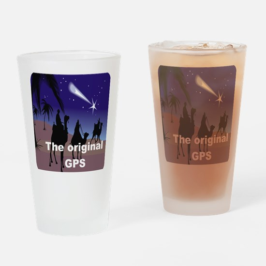 THE ORIGINAL GPS Drinking Glass