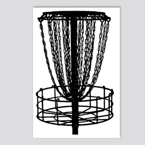 black basket NO TEXT Postcards (Package of 8)