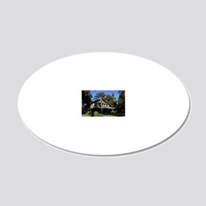 2008c-004-2x3-P 20x12 Oval Wall Decal