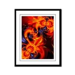 Dance of the Dragons Framed Panel Print