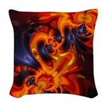 Dance of the Dragons Woven Throw Pillow