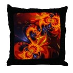 Dance of the Dragons Throw Pillow