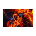 Dance of the Dragons 35x21 Wall Decal