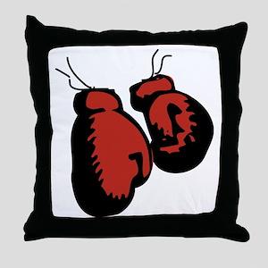 2011-12-23_Phish_BoxingGloves Throw Pillow
