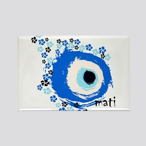 MATI-GREEK EYE Rectangle Magnet
