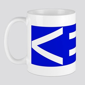 less is more-CP Mug