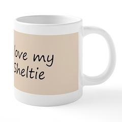 Shetland Sheepdog Puppy 20 oz Ceramic Mega Mug