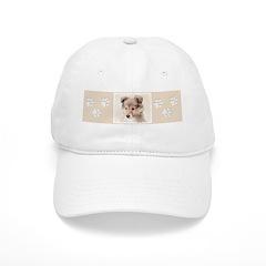 Shetland Sheepdog Puppy Baseball Cap