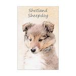 Shetland Sheepdog Puppy Mini Poster Print
